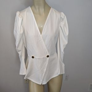 🆕 Seductions - white blazer jacket